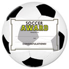 Motivations Soccer Sports Certificate Award Kit and Holder, 8.5 X 5.5, 10/pk SOUMSK5