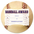 Motivations Baseball Sports Certificate Award Kit and Holder, 8.5 X 5.5, 10/pk SOUMSK2