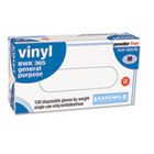 General-Purpose Vinyl Gloves, Latex-Free, 4 mils, Medium, Clear, 100/Box BWK365M