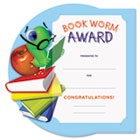 Motivations Bookworm Certificate Award Kit and Holder, 8.5 X 5.5, 10/pk SOUMAK2