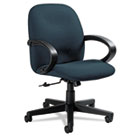 Enterprise Series Low-Back Swivel/Tilt Chair, Polypropylene Fabric, Navy GLB4561BKPB08