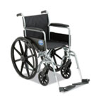 Excel K1 Basic Wheelchair, 18 x 16, 300lb Cap MIIMDS806150EE