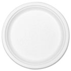 "Compostable Tableware, 9"" Plate, White, 300/Carton STMP013R"