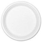"Compostable Tableware, 7"" Plate, White, 420/Carton STMP011R"