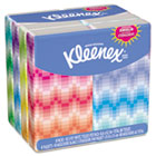 KLEENEX Facial Tissue Pocket Packs, 3-Ply, White, 10/Pouch, 8 Pouches/Pack KIM11974