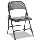 Steel Folding Chair, Graphite, 4/Carton ALEFC94B