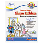 Writing Fundamentals Tablet, Shape Builders, 10 x 8, 21 Sheets per Pad MEA48040