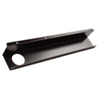 Split-Level Training Table Cable Tray, Metal, 21-1/2w x 3d, Black, 2/Pack BLT65850