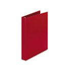 "Economy Binder with Round Rings, 1"" Capacity, Red AVE03310"