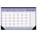 Monthly Desk Pad Calendar, 17-3/4 x 10-7/8, 2015 REDC181700