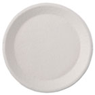 "Savaday Molded Fiber Dinnerware, Plate, 9"" dia, White, 125/Pack, 4 Packs/Carton HTMACE"