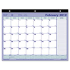 Monthly Desk Pad Calendar, 11 x 8-1/2, 2014 REDC181721
