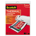 Letter Size Thermal Laminating Pouches, 3 mil, 11 1/2 x 9, 20/Pack MMMTP385420