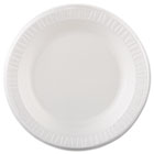 "Plastic Dinnerware, Plate, 10 1/4"" dia, White, 125/Pack, 4 Packs/Carton DRC10PWQ"