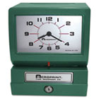 Model 150 Heavy-Duty Analog Automatic Print Time Clock ACP01207040A