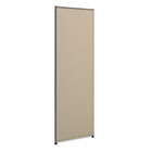 Versé Office Panel, 24w x 72h, Gray BSXP7224GYGY