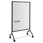 Impromptu Magnetic Whiteboard Collaboration Screen, 42w x 21 1/2d x 72h, Black SAF8511BL