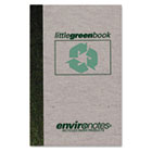 Little Green Book, Gray Cover, Narrow Rule, 6 x 4, White Paper, 60 Sheets ROA77357