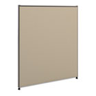 Versé Office Panel, 36w x 42h, Gray BSXP4236GYGY