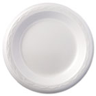 "Foam Dinnerware, Plate, 6"" dia, White, 125/Pack, 8 Packs/Carton GPK80600"