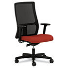 Ignition Series Seating Mesh Mid-Back Work Chair, Poppy Fabric Upholstered Seat HONIW103CU42