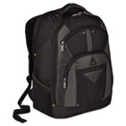 "Conquer 16"" Backpack, 11-8/10 x 7-1/2 x 18-3/4, Black TRGTSB214US"