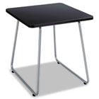 Anywhere End Table, 20w x 20d x 19-1/2h, Black/Silver SAF5090SL