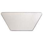 Valencia Series Training Table Top, Trapezoid, 47 1/4w x 23 5/8d, Speckled Gray ALEVA72TZ4824GY