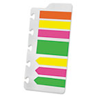 Page Flag Refills for Versa Notebook, Assorted Glow, 210 /PK ESS25631