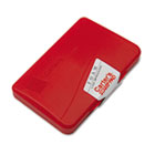 Foam Stamp Pad, 4 1/4 x 2 3/4, Red AVE21371