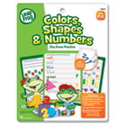 SmartDudes LeapFrog Activity Book, Colors/Shapes/Numbers, Dry Erase, 16 Pages BDU19431UA24
