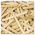 Natural Wood Craft Sticks, 4 1/2 X 3/8, Wood, Natural, 150/PK CKC367501