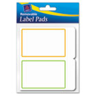 Removable Label Pads, 2 x 3, Assorted, 80/Pack AVE22019