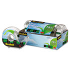 "Magic Greener Tape in Refillable Dispenser, 3/4"" x 600"", 1"" Core, 6/Pack MMM6123"