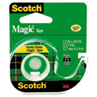 "Magic Tape w/Refillable Dispenser, 1/2"" x 450"", Clear MMM104"