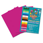 Heavyweight Construction Paper, 58 lbs., 9 x 12, Magenta, 50 Sheets/Pack RLP62001