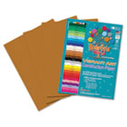Heavyweight Construction Paper, 58 lbs., 9 x 12, Light Brown, 50 Sheets/Pack RLP62301