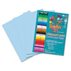 Heavyweight Construction Paper, 58 lbs., 9 x 12, Light Blue, 50 Sheets/Pack RLP60501
