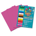Heavyweight Construction Paper, 58 lbs., 9 x 12, Hot Pink, 50 Sheets/Pack RLP67101