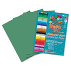 Heavyweight Construction Paper, 58 lbs., 9 x 12, Holiday Green, 50 Sheets/Pack RLP67801