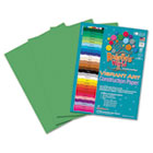 Heavyweight Construction Paper, 58 lbs., 9 x 12, Medium Green, 50 Sheets/Pack RLP63301