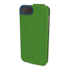 Portafolio Flip Wallet for iPhone 5, Green/Blue KMW39607