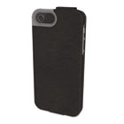 Portafolio Flip Wallet for iPhone 5, Black Marble KMW39604