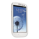 Gel Case for Samsung Galaxy S3, White KMW39653