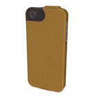Portafolio Flip Wallet for iPhone 5, Tan KMW39605