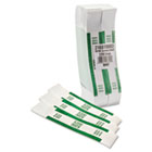 Self-Adhesive Currency Straps, Green, $200 in Dollar Bills, 1000 Bands/Box MMF216070D02