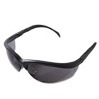 Klondike Safety Glasses, Matte Black Frame, Gray Lens CRWKD112