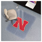 Collegiate Chair Mat for Low Pile Carpet, 36 x 48, Nebraska Cornhuskers ESR503710