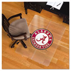 Collegiate Chair Mat for Hard Floors, 36 x 48, Alabama Crimson Tide ESR500128