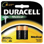 Coppertop Alkaline Medical Battery, N, 1.5V, 2/Pk DURMN9100B2PK